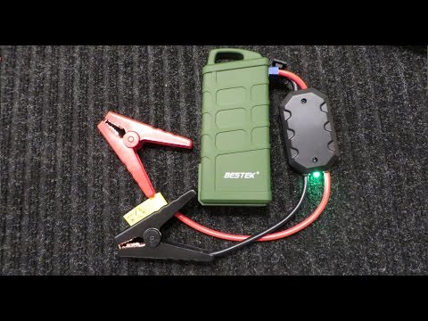 BESTEK 600A Portable Jump Starter and Power Source Review