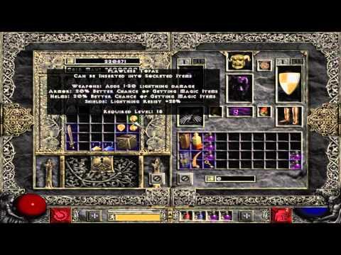 How does Gem shrine work - Diablo 2