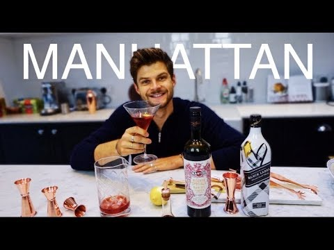 HOW TO MAKE A MANHATTAN   #TFIFRIDAY
