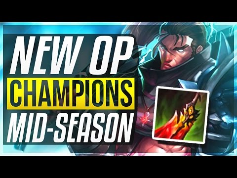 NEW YASUO DD? NEW OP CHAMPIONS IN 7.9 Mid-Season | BEST Champs To Carry + Builds - League of Legends