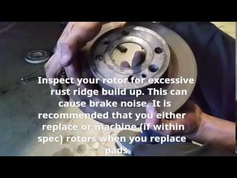 Miata How to: Fix Brake Squeak/Noise | Replace Rear Brakes