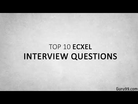 Top 5 Excel Interview Questions and Answers ☑️
