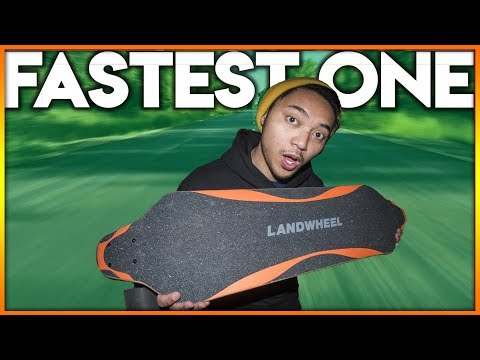 My Fastest Electric Skateboard 2018 (FASTER than Boosted Board)