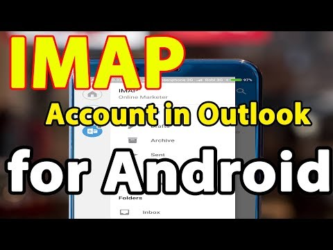 How to set up an IMAP account in Outlook for Android | LearningBD