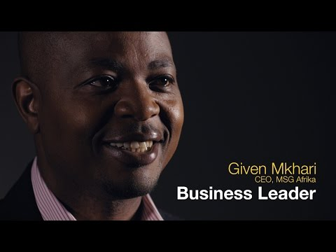 Series 2, Episode 7: The Given Mkhari business leadership journey