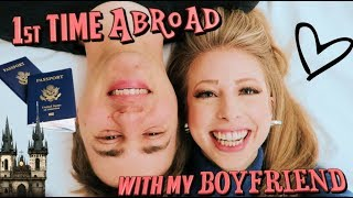 1st Time Abroad with my Boyfriend! | Visiting Carnival Row set in Prague