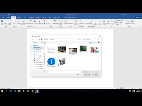 "Change Default ""Insert Picture"" Location in MS Word"
