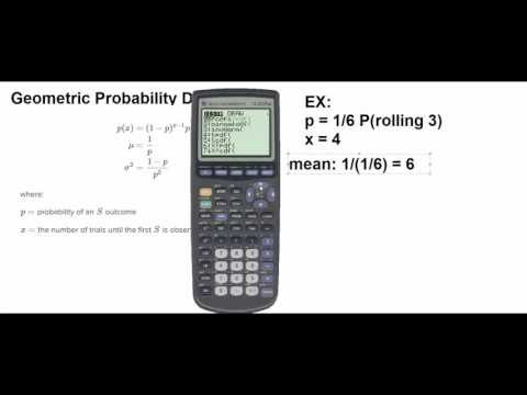 Geometric Probability Distribution