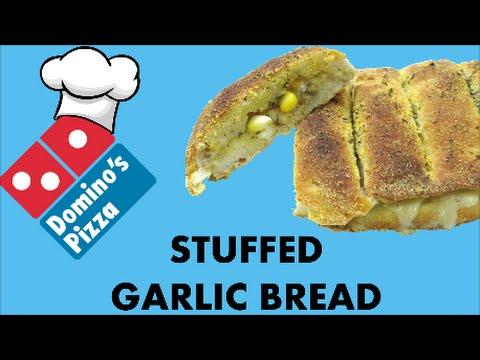 Make Stuffed Garlic Bread like Domino's at home !!!