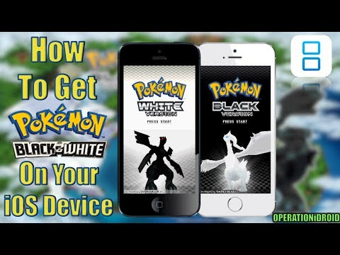 NDS4iOS: How To Get Pokemon Black and/or White (EXP PATCH) (NO COMPUTER)