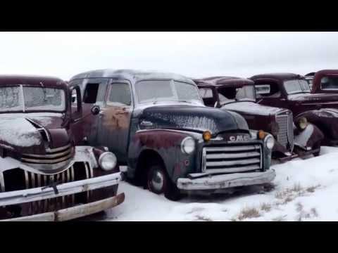 Classic Car Trucks Old Time Junkyard Rat Rod or Restorer Dream Cars and Trucks