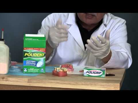 How to clean dentures - Corona Denture Dentist