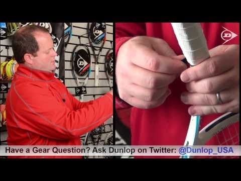 How To Change the Grip on Your Tennis Racquet - DunlopTennis.us