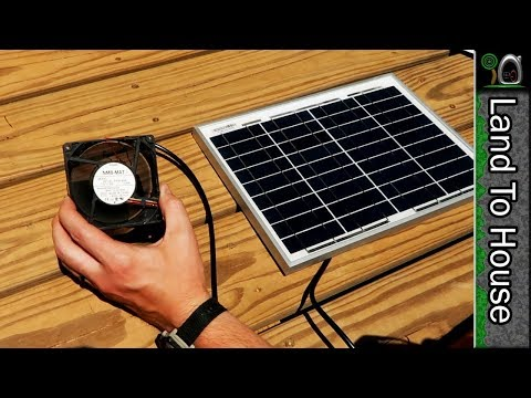 Solar Power Computer Fan