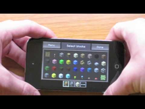 Minecraft -- Pocket Edition iPod touch (iPhone + iPad) App Review
