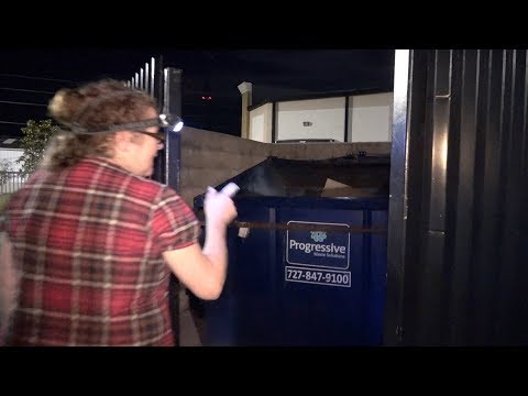 I TOOK MY MOTHER IN LAW DUMPSTER DIVING LOL