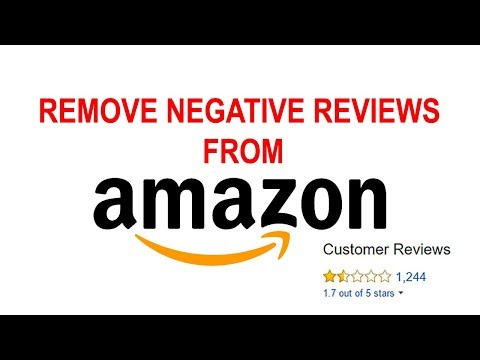 Buyers Negative Reviews Remove from Amazon Products