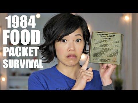 1984 Food Packet Survival, General Purpose | U.S. AIR FORCE Pilot Emergency MRE RATION TASTE TEST