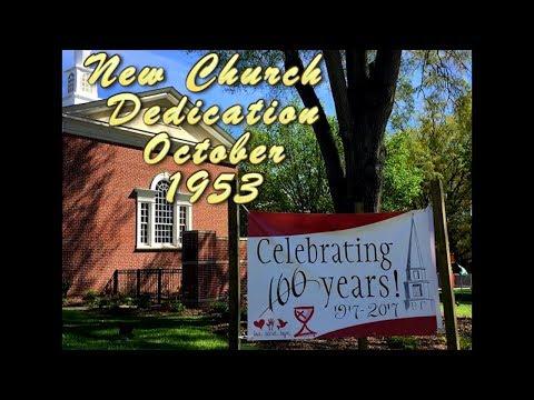 New Church Dedication 1953
