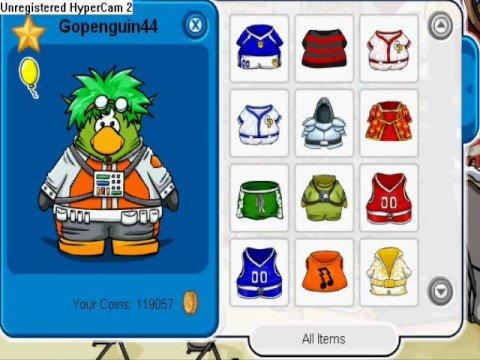 Club Penguin: Make a Alien Costume