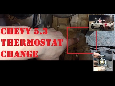 🚗Thermostat Change Chevy 5.3: Simple and Quick Video