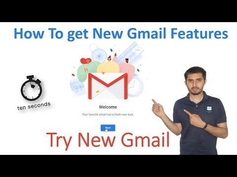 How To get New Gmail Features || Try New Gmail Features