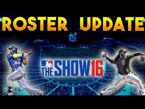 MLB The Show 16 Roster Update July 15th