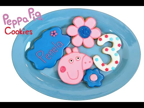 How to make Peppa Pig Cookies