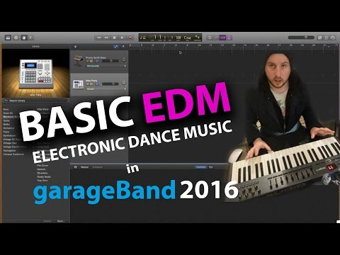 GarageBand Tutorial 2016