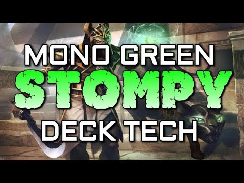 Mtg Budget Deck Tech: Mono Green Stompy in Hour of Devastation Standard!