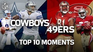 Cowboys vs. 49ers: Top 10 Greatest Moments in the Historic Rivalry   NFL Highlights