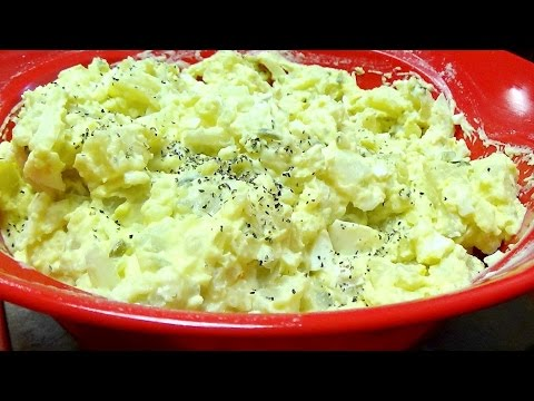 Recipe for Mustard Potato Salad Using Power Pressure Cooker XL for Potatoes & Eggs