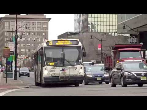 Buses in Newark, New Jersey 2017 (the largest city in NJ)