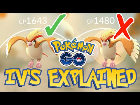 POKEMON GO: IV's EXPLAINED! DOES IT MATTER???