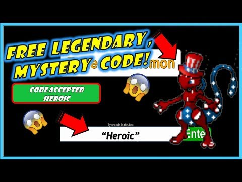 NEW CODE / MYSTERY GIFT / Legendary- Project Pokemon / Roblox / Codes Every Friday