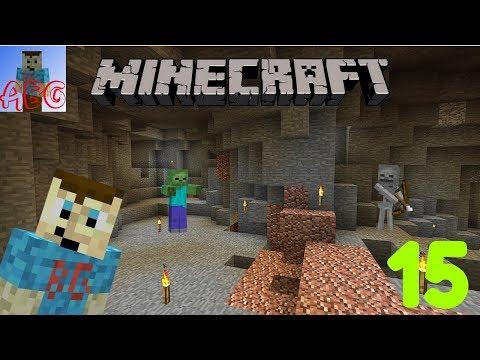 Minecraft Let's Play Part 15   Cave Exploration