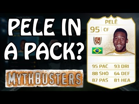 FIFA 14 Mythbusters - THE PELE CONSPIRACY THEORY - Pele In A Pack?... Not A Chance!