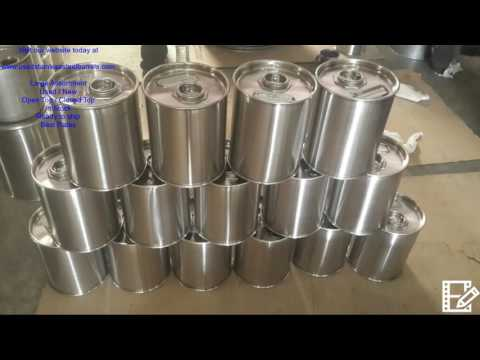 55 Gallon Stainless Steel Drums For Sale