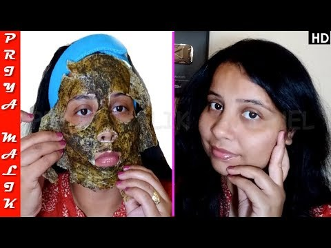 Instantly Remove Sun Tan & Get Fair Glowing Skin - DIY Peel Off Mask | Priya Malik