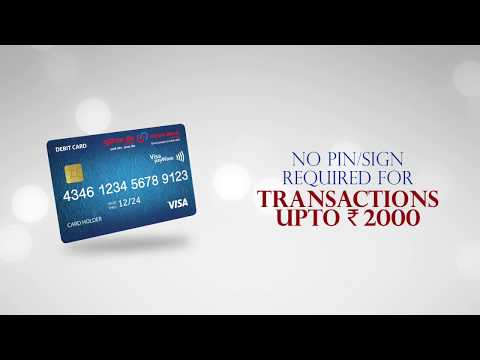 Contactless Debit Card (Visa payWave) launched by Union Bank