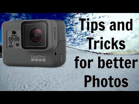 GoPro Hero 5 and Hero 6 - Tips for the best settings for photos