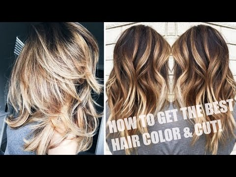 HOW TO GET THE BEST HAIRCUT AND COLOR | ALL ABOUT MY HAIR; CUT, COLOR, STYLE