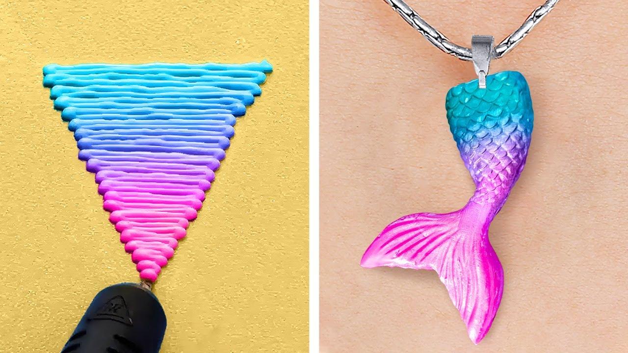 Fantastic 3D-Pen And Glue Gun DIY Crafts    Mini Crafts, DIY Jewelry And Repair Tricks