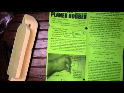Planer Bobber unboxing 2016 My fishing secret weapon & uni knot