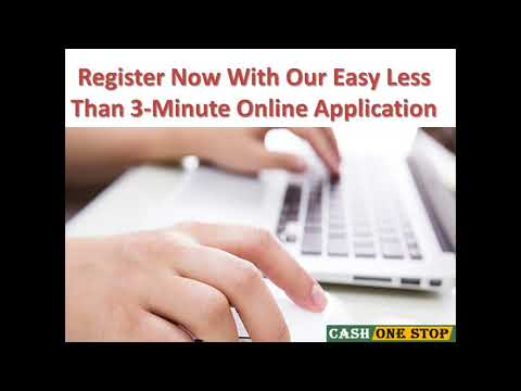 Quick Cash Loans- Get Cash Loans up to $1000 to Handle Crisis Situations