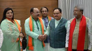 Fresh setback for Mamata Banerjee as ex-Kolkata mayor Sovan defects to BJP