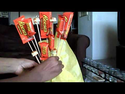 How to Make a Candy Bouquet Pt1