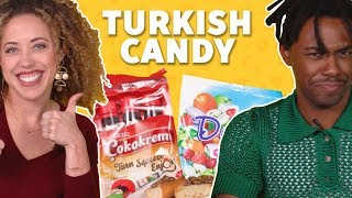 We Tried Turkish Candy 🍬 TASTE TEST!