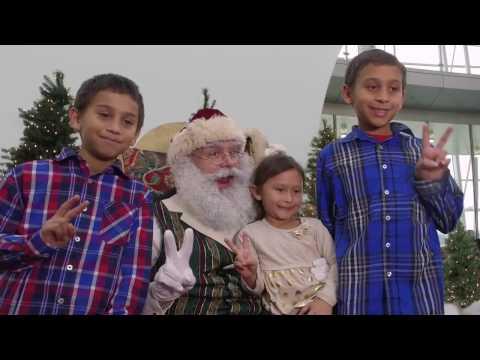 Santa Claus Visits Indy Airport
