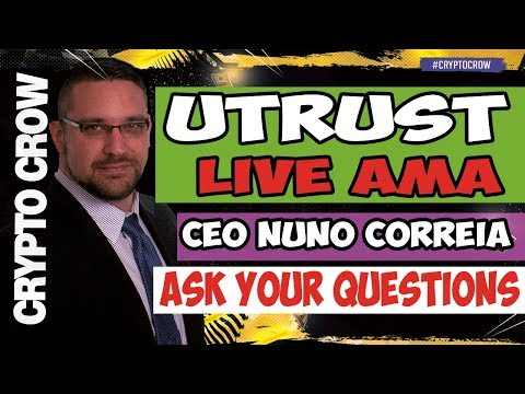 UTRUST Live AMA with Nuno Correia - Paypal Disrupter 😀👥 Utrust ICO